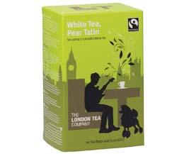 London Tea Enveloped - 20's - White Tea & Pear Tatin - 6x20