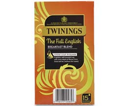 Twinings Enveloped - 216 Pyramid - Full English - 4x15