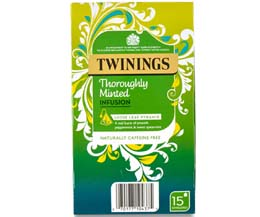 Twinings Enveloped - 216 Pyramid - Thoroughly Minted - 4x15