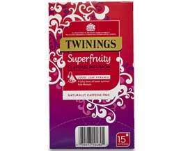 Twinings Enveloped - 216 Pyramid - Super Fruity - 4x15
