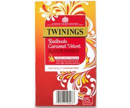 Twinings - 216 Range - Redbush Caramel Velvet - 4x15