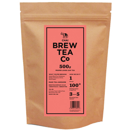 Brew Tea Loose Leaf - Chai Tea - 1x500g