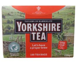 Yorkshire Tea St/Tag (Bags) - 6x100