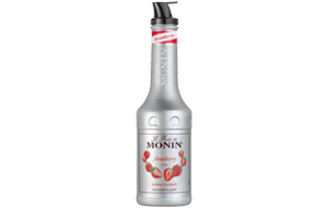 Monin - Plastic - Strawberry Puree - 1x1L