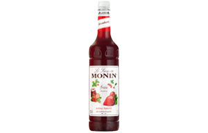 Monin - Plastic - Strawberry Syrup - 1x1L