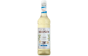 Monin - Plastic - Sugar Free Vanilla Syrup - 1x1L