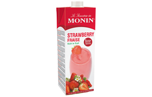 Monin - Carton - Strawberry Smoothie - 1x1L