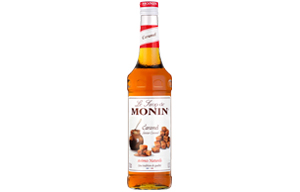 Monin - Glass - Caramel Syrup - 1x700ml
