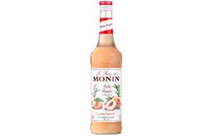 Monin - Glass - White Peach Syrup - 1x700ml