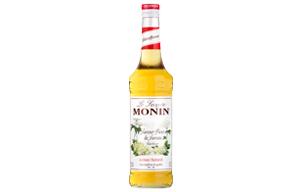 Monin - Glass - Elderflower Syrup - 1x700ml
