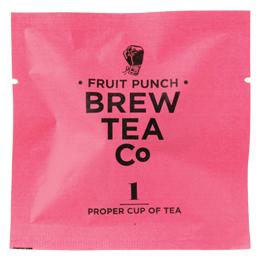 Brew Tea Enveloped - Fruit Punch - 1x100 Box