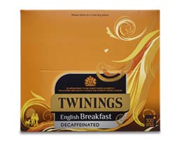 Twinings S&T - Decaff English Breakfast - 6x100