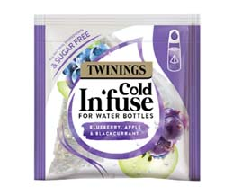 Cold In'Fuse Teabags - Bluberry, Apple & Blackcurrant - 1x100
