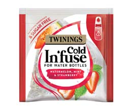 Cold In'Fuse Teabags - Watermelon, Strawberry & Mint - 1x100