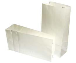 White Block Bag - 110x60x183 - Qty 100